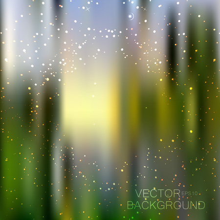 Abstract bright glitter background with little stars