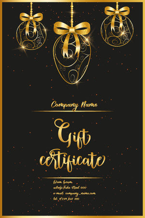 Voucher, Gift certificate, Coupon template 向量圖像