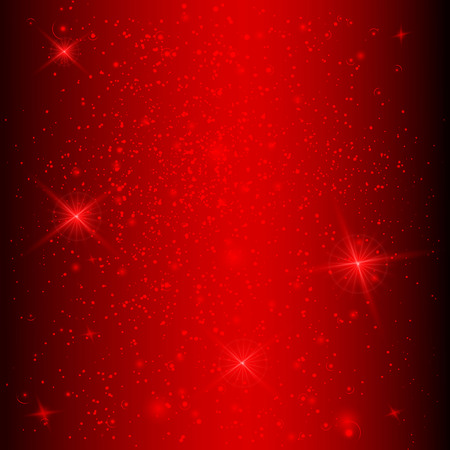 Background with stars in red colors. Vector illustration Illustration