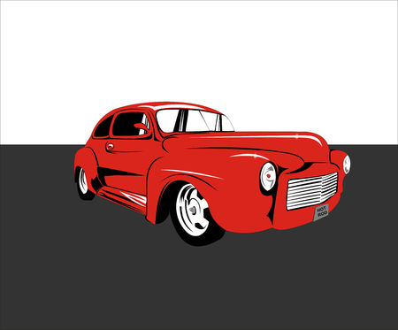 hotrod: Simple Hotrod Illustration