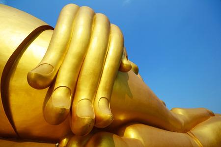 ang thong: Watmuang at Ang thong province in thailand Stock Photo