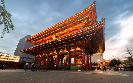 Asakusa temple or Sens-ji, is an ancient Buddhist temple located in Asakusa, Tokyo, Japan. Editorial