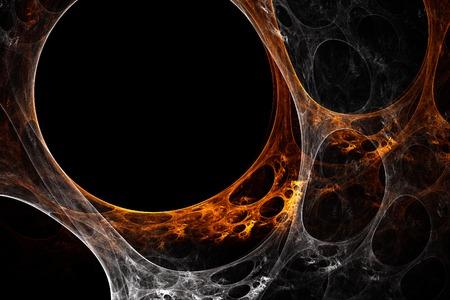 Orange-white plasma Stock Photo - 1666830