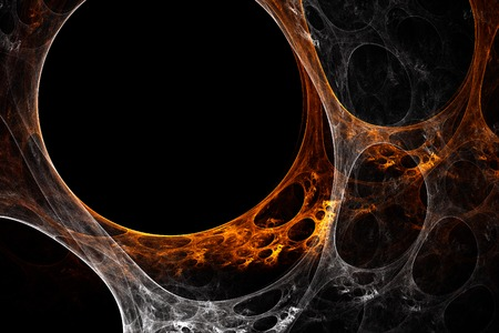 Orange-white plasma Stock Photo - 1666830