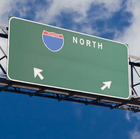 Customizable freeway sign