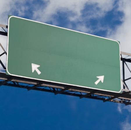 Anpassbare Autobahn Zeichen Version 3  Standard-Bild - 1666779