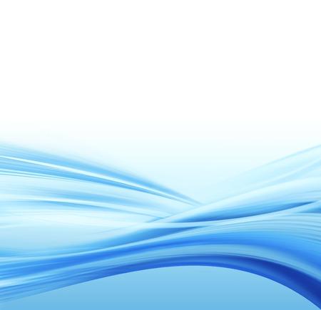 Illustration von fließendem Wasser  Standard-Bild - 1666761