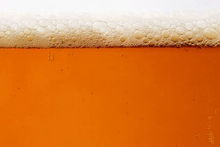 Close-up of a beer glass