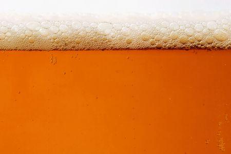Close-up von einem Bier Glas Standard-Bild - 1979021