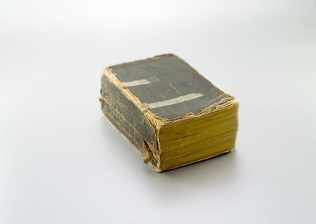 Old tattered book from the early 20th century Stock Photo - 13002543