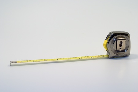 handtool: Tape measure Stock Photo