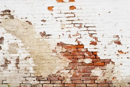 Eine Seite eines alten Backsteingebäude Standard-Bild - 13004060