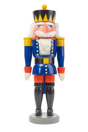 christmas military: Christmas Nutcracker Soldier Stock Photo