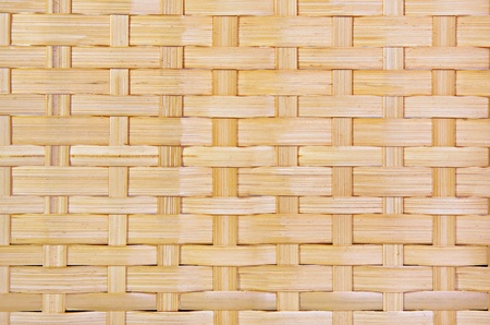 Close-up of a woven basket Stock Photo