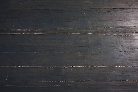 Close-up of old weathered, painted wood