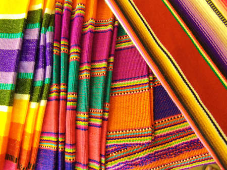cozumel: Colorful Mexican Blankets. Taken in Cozumel, Mexico.