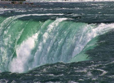 Niagara Falls, famous tourist landmark. Ontario, Canada Stock Photo