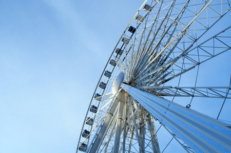 Liverpool Eye with blue skies photo