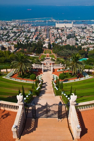 The sacred garden of Baha