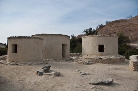 neolithic: Remainings of a Neolithic settlement in Cyprus