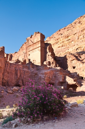 archaeologically: The ancient city of Petra in Jordan