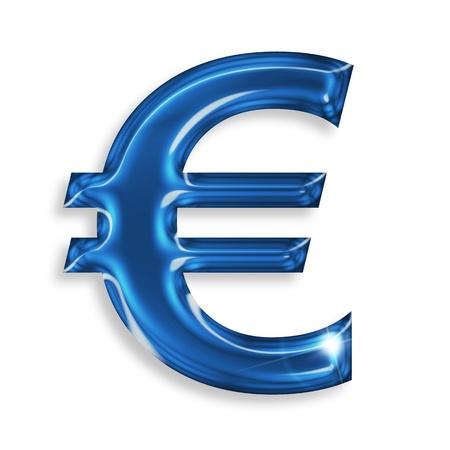 euro symbol isolated on white background Stock Photo - 15913584