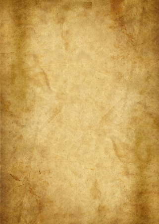 vellum: illustration of an old brown parchment paper Stock Photo