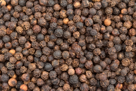 close up of a background of black pepper Stock Photo - 23985457