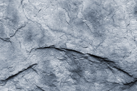 dark grey slate: close up of a grey stone wall Stock Photo