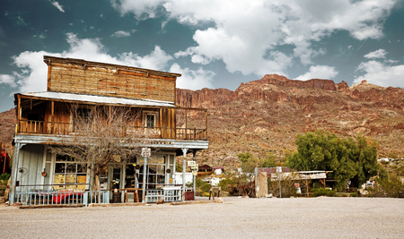 general store: old west general store in the Arizona desert