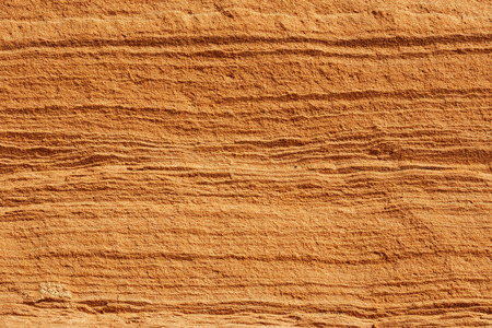 extreme close up: extreme close up of a red rock