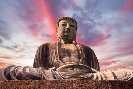 Great Buddha bronze statue in Kamakura, Japan Stock fotó