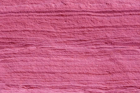 extreme close up of pink sandstone surface
