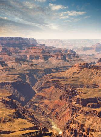 Majestic vista of Grand Canyon National Park