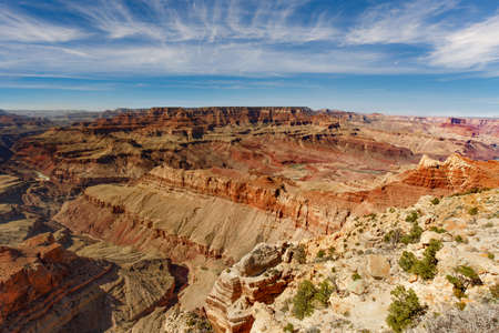 Sunny day in Grand Canyon National Park
