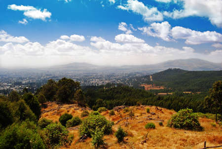 view of Addis abeba Ethiopia Stock Photo - 9782892