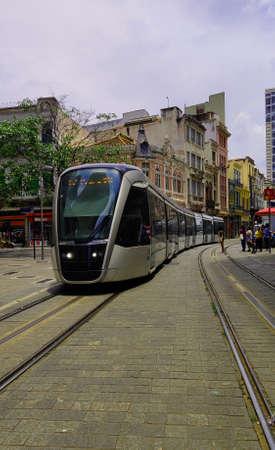VLT through the center of Rio de Janeiro