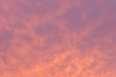 Background of the pastel evening sky. Sunset time. 免版税图像