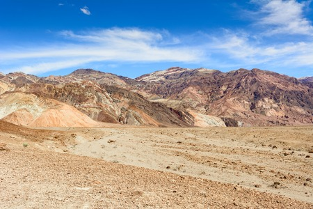 Beautiful mountains of Artist's Palette in Death Valley National Park, California, USA.