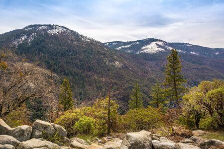 Beautiful landscape of the Yosemite National Park. California, USA