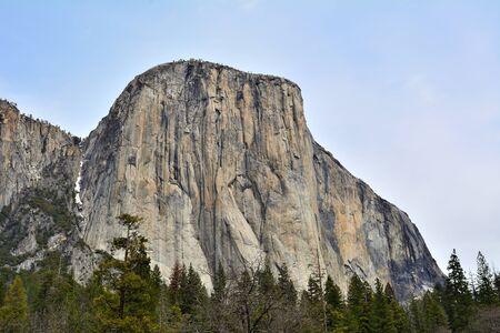 El Capitan, amazing formation in Yosemite National Park, California, USA