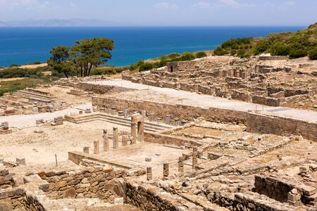 The ancient city of Kamiros located in the northwest of the island of Rhodes. Greece