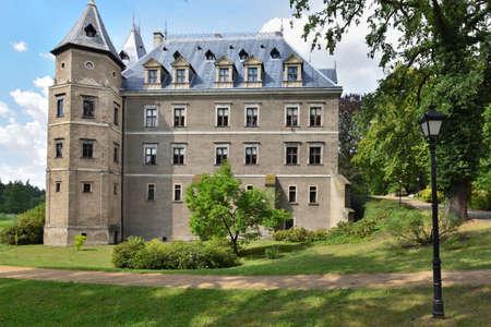 Goluchow, Poland - July 14, 2018: Castle in Goluchow. Renaissance architecture style. Poland, Europe