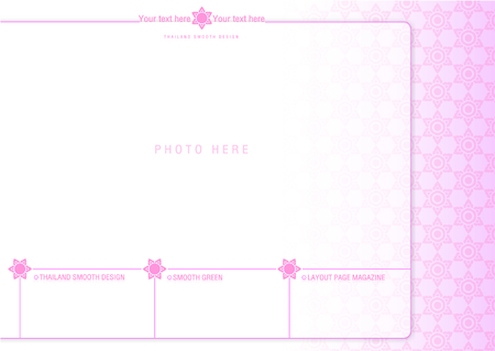 page layout: Thailand smooth page layout design 2