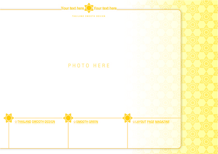 pastel tone: thailand smooth page layout design 1