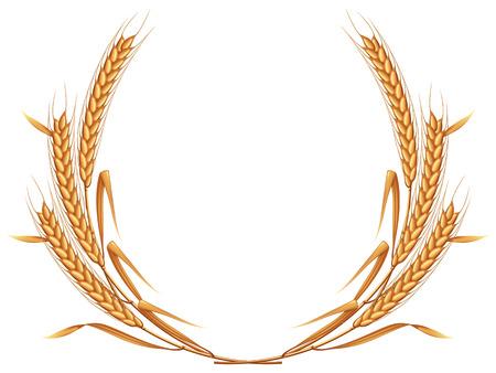 Wheat wreat.