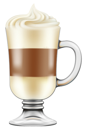 cappuccino cup: Macchiato  Cappuccino coffee.