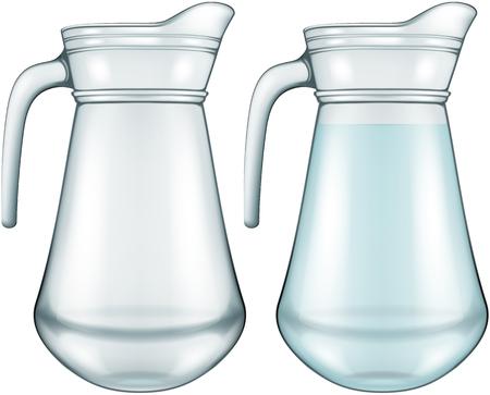 glass jar: Glass jar, vector illustration.