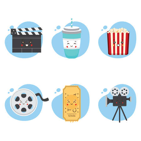 Set 6 of Kawaii Cinema for your Project and Others
