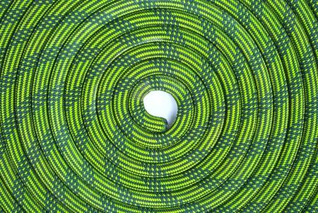 Kletterseil in Spiralform Standard-Bild - 10507622